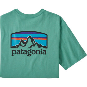 Patagonia Fitz Roy Horizons Camiseta Responsable Hombre, light beryl green